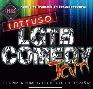 LGTB Comedy Jam @ Intruso Bar Madrid