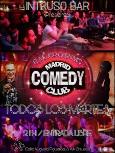 MADRID COMEDY CLUB (Intruso) @ Intruso Bar