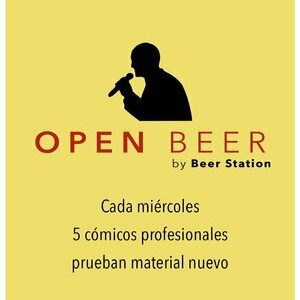 open mic beer station